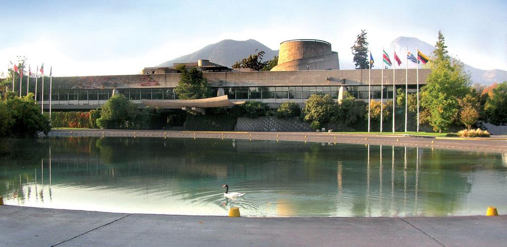 La sede de la Comisión Económica para América Latina y el Caribe (Cepal).