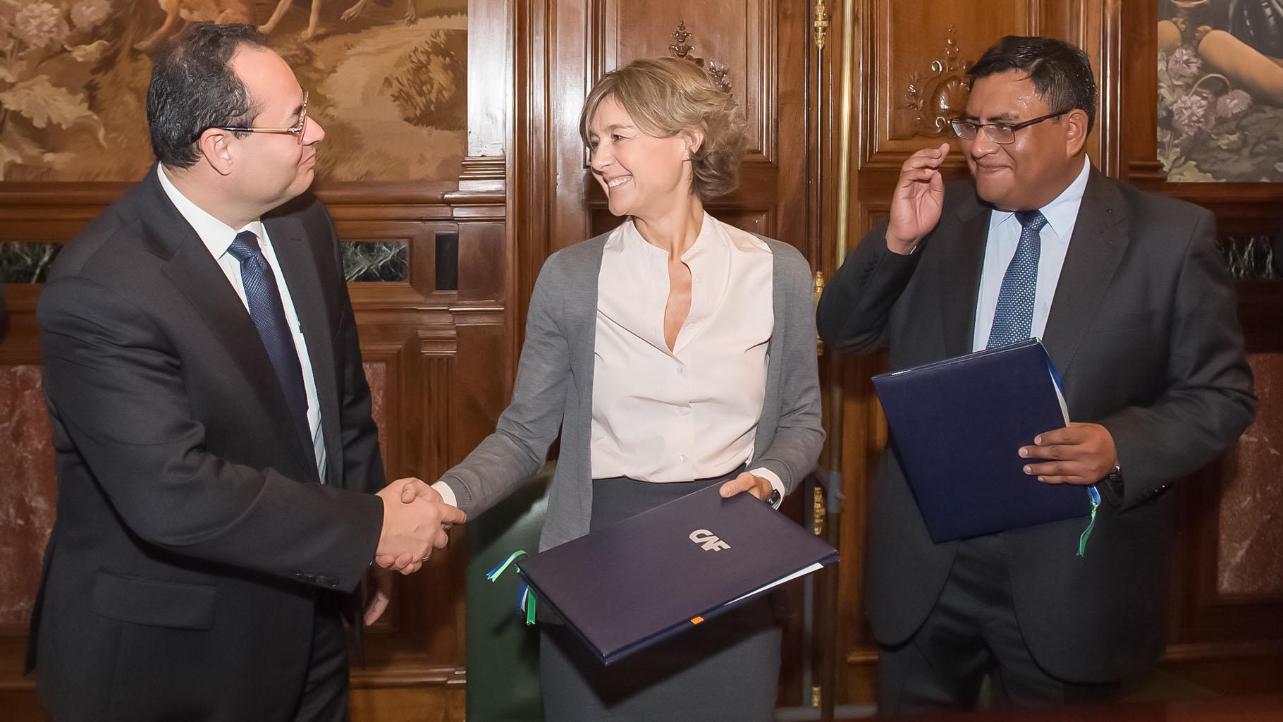 El acuerdo de cooperación en materia de seguridad de presas será financiado por el CAF.
