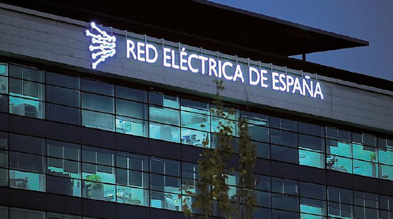 La inversión total alcanzada por la Red Eléctrica de España es de 296 millones de euros.