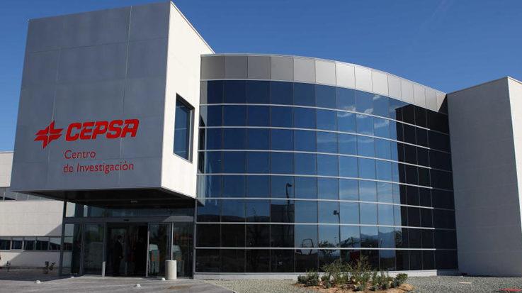 La sede de la compañía española de petróleos, CEPSA.