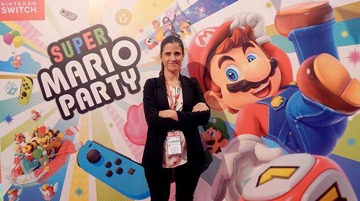 Cristina Pérez Olmos, jefa de prensa de Nintendo Ibérica.