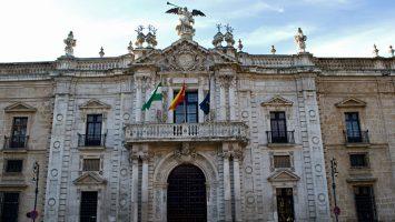 La sede de la universidad de Sevilla.