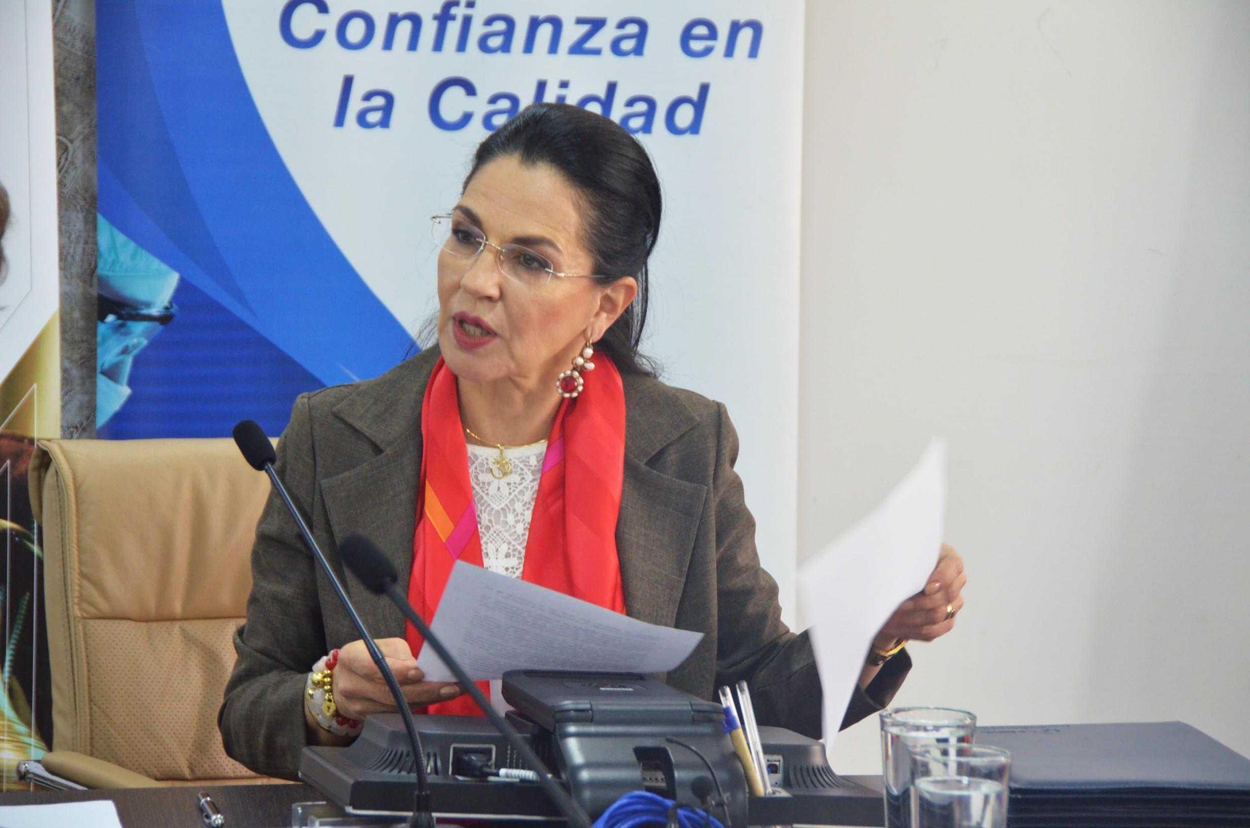 Eva García Fabre, ministra de Industria y Productividad de Ecuador.
