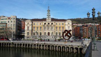 La sede del Ayuntamiento de Bilbao.