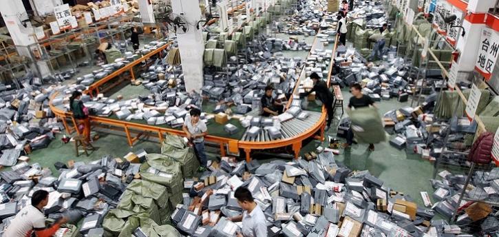 Con la celebración del 'día de los solteros', Alibaba generó 25.400 millones de dólares en ventas.