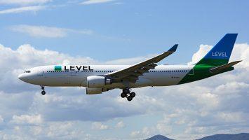 La aerolínea Level volará desde Barcelona hacia Santiago de Chile y Nueva York a partir del 2019.