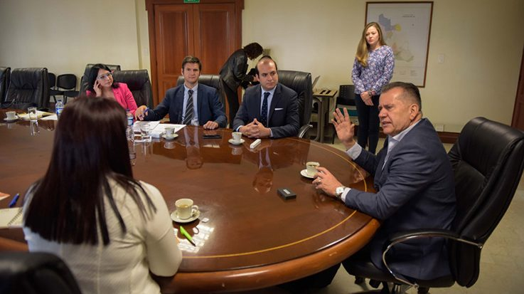 La delegación de País Vasco ha presentado en Colombia la experiencia de la región en temas como el transporte, innovación, energía sostenible, entre otros.