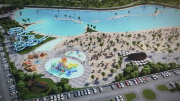 La playa artificial de Alovera Guadalajara se encontrará a sólo a 40 minutos de la capital.