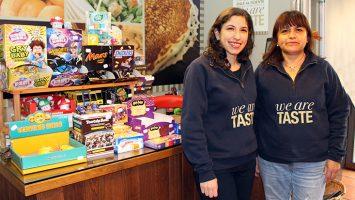 Ximena Sequera y Yolanda Padilla, responsables de la franquicia Taste of America en Chueca.