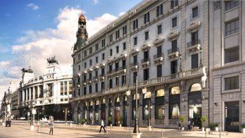 El Hotel estará en el Centro Canalejas, donde se ha destinado una inversión de 525 millones de euros.