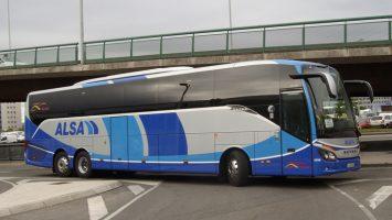 Alsa intentará hacerse con alguno de los seis corredores de transporte metropolitano de Santiago de Chile.