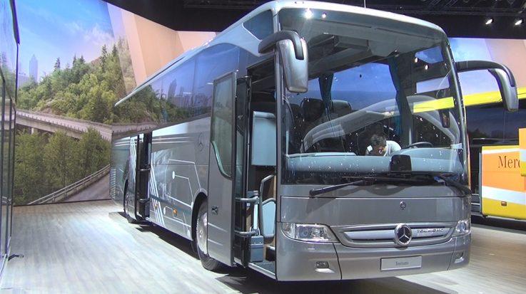 La filial brasileña de Mercedes-Benz exportará 300 autobuses a Ecuador.