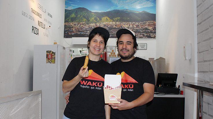 Miriam Achikar y Anselmo Afonso, fundadores de Wakü.