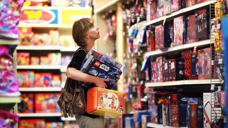 En octubre,las ventas nacionales de juguetes llegaron a los 380 millones de euros.