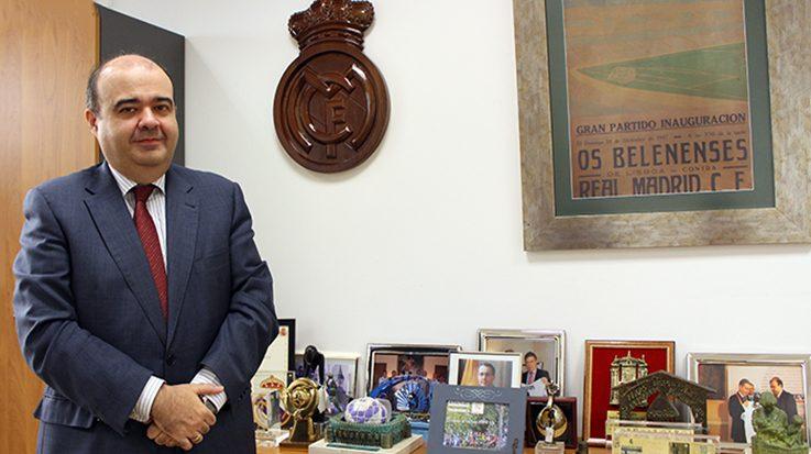 Julio González Ronco, director gerente de la Fundación Real Madrid.