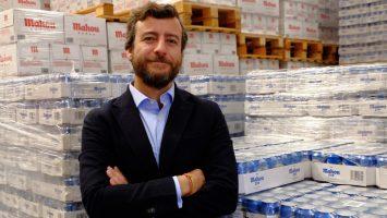 Juan Botas, director general de Mahou Andina.