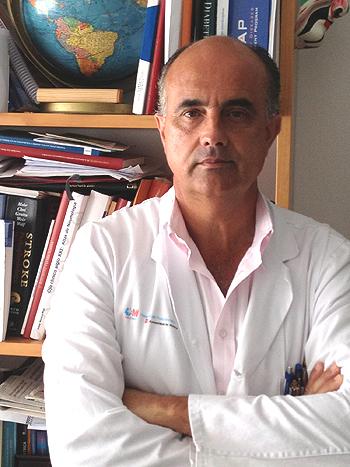 Antonio Zapatero, presidente de la Sociedad Española de Medicina Interna (SEMI).