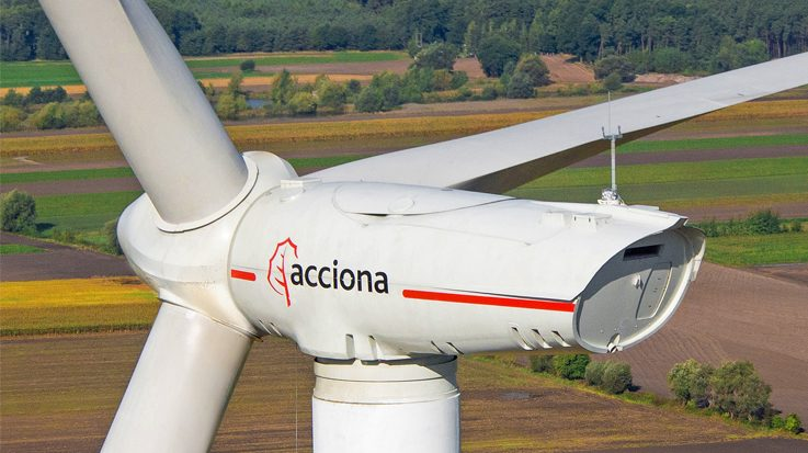 El parque dispondrá de 61 aerogeneradores de tecnología Nordex Acciona Windpower.