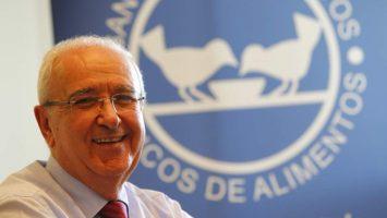 Nicolás M. Palacios Cabero, presidente de la Federación Española de Bancos de Alimentos.