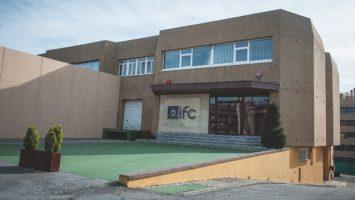 La sede de Industrial Farmacéutica Cantabria (IFC).
