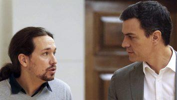Pedro Sánchez y Pablo Iglesias debaten los PGE