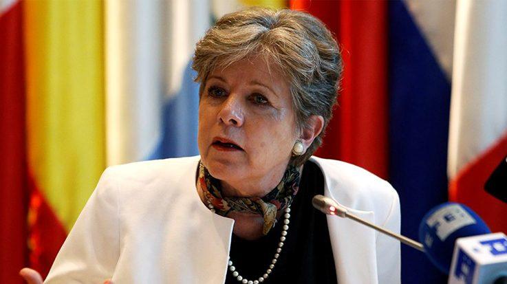 Alicia Bárcena, secretaria ejecutiva de la Comisión Económica para América Latina y el Caribe (Cepal).