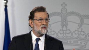 Mariano Rajoy, presidente de Gobierno, anuncia un incremento del 4% al salario mínimo durante el 2018.