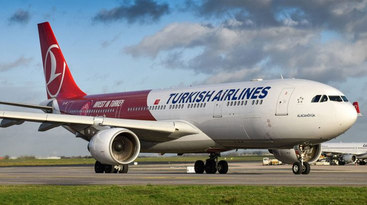 La aerolínea Turkish Airlines aumentará de tres a cinco sus vuelos semanales a Caracas.