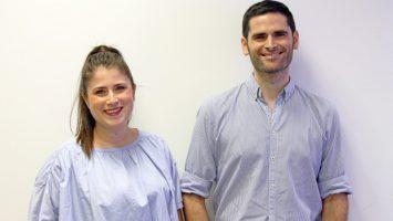 María Sancho y José María Sancho, representantes de OpenTherapi.