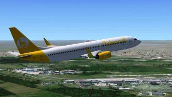 La aerolínea Flybondi presenta los primeros vuelos 'low cost' en Argentina.