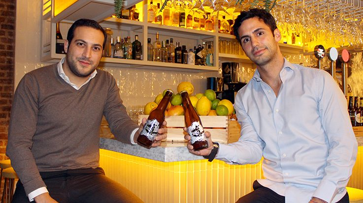 Francisco Serrano y Levy Benzaquen, fundadores de cerveza Terra Latina.
