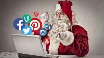 México es el país que registró el mayor volumen de mensajes navideños, un 34 por ciento.