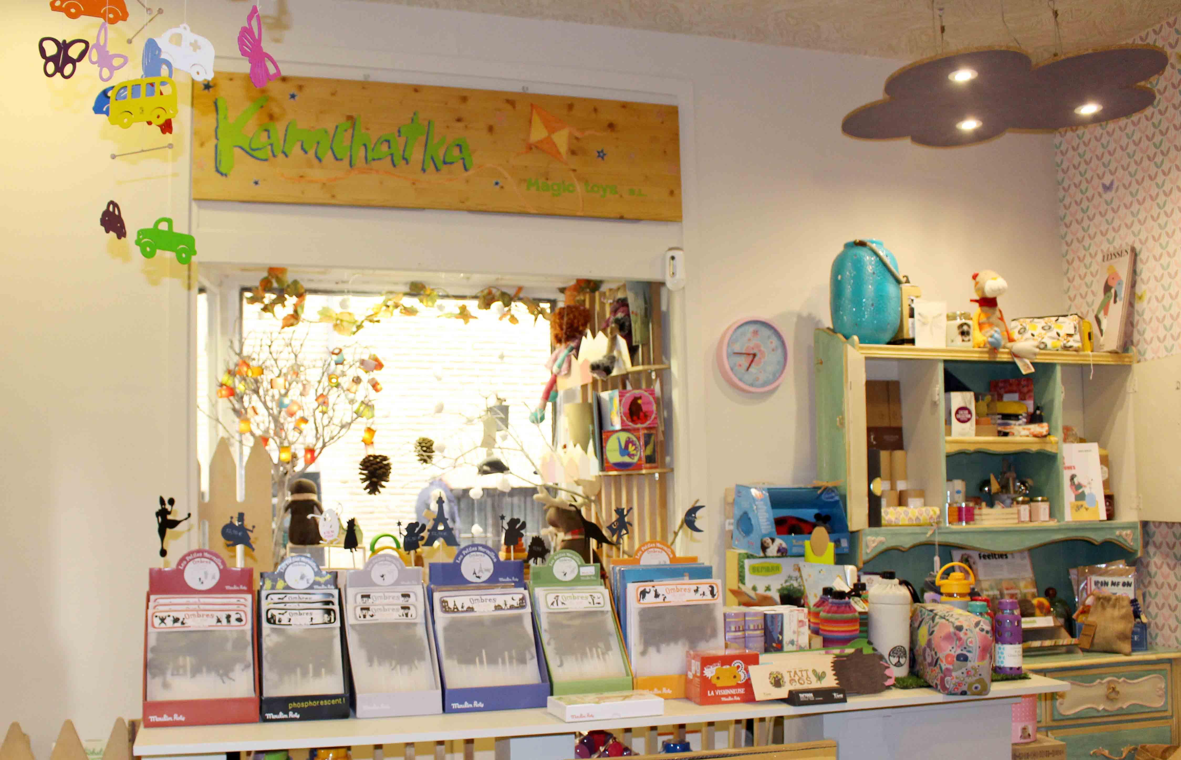 Kamchatka se especializa en el sector de los juguetes artesanales y tradicionales.