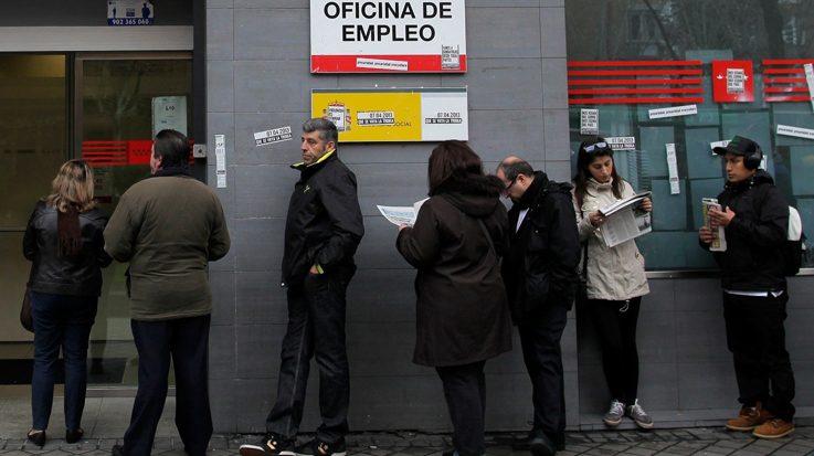 La tasa de paro cierra en 2017 con 3,41 millones de españoles desempleados.