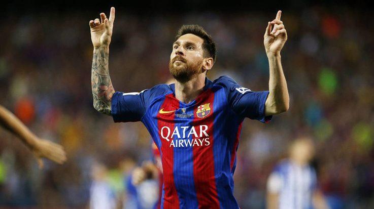 Lionel Messi encabeza el listado de Forbes con unos ingresos de 80 millones de dólares.