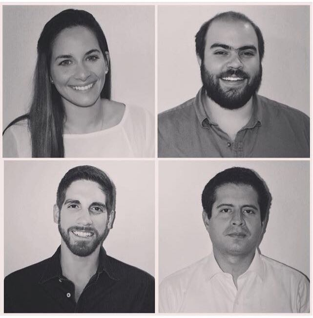 El equipo de Meraki está conformado por: Laura Luque, Alfonso de la Piedra, Fabrizio Crudo y Andrés Rivadeneira.