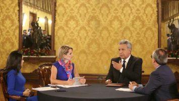 Lenín Moreno ha mantenido conversaciones con John Todd en busca de posibilidades para un acuerdo comercial con EEUU.