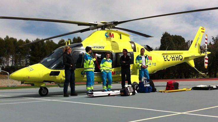 La pregunta más curiosa del acceso a la formación sanitaria especializada ha sido conocer los decibelios de un helicóptero sanitario.