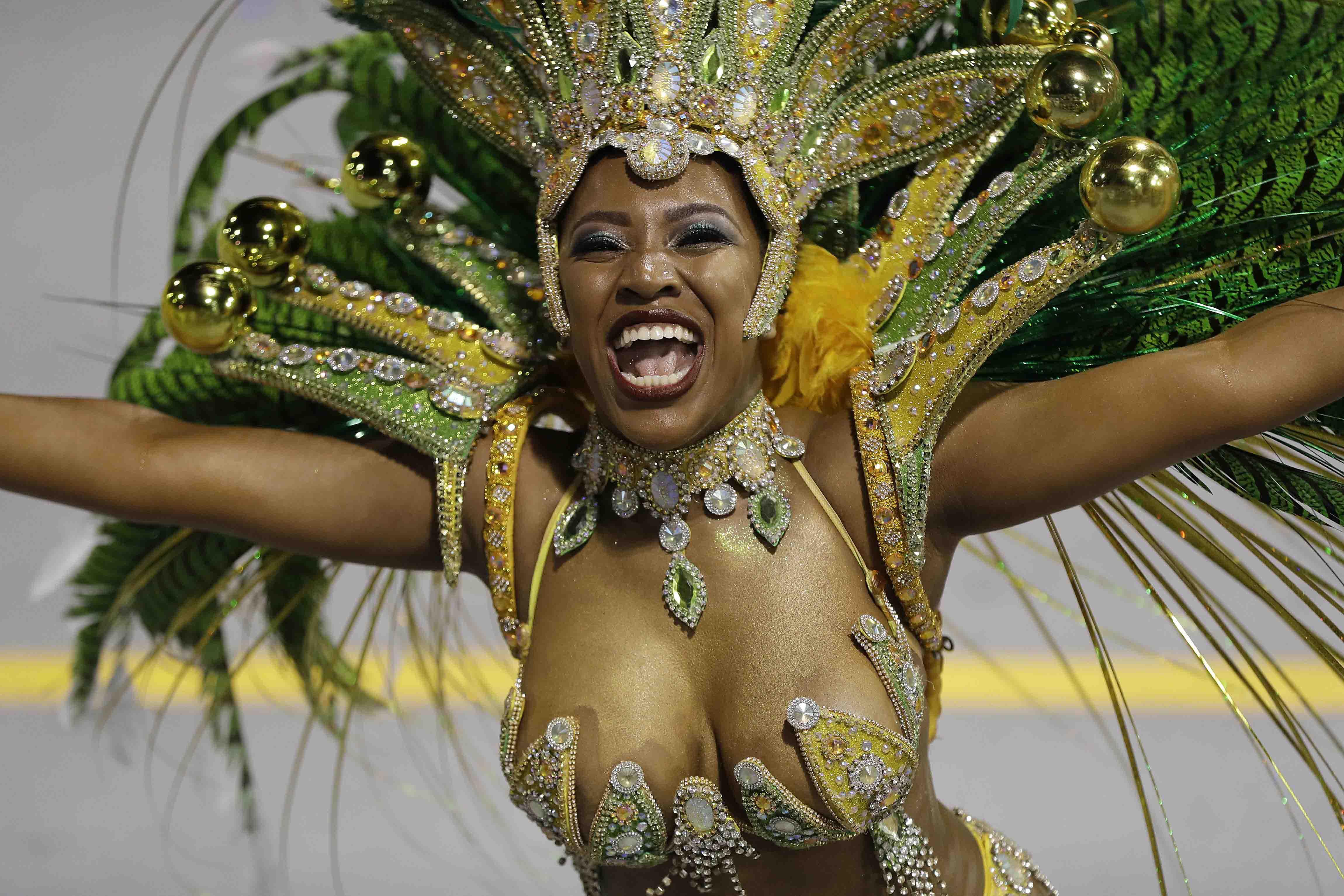 Brasil estima que recibió unos 3.619 millones de dólares por la celebración del carnaval 2018.