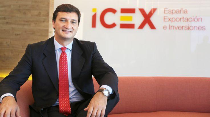 Francisco Javier Garzón, consejero delegado de ICEX.