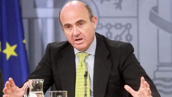 Luis de Guindos, ministro de Economía de España y próximo vicepresidente del BCE.