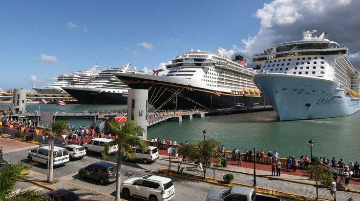 Carla Campos, directora ejecutiva interina de la Compañía de Turismo de Puerto Rico, estima que recibirán un millón de turista en cruceros para junio 2018.