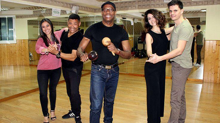 Javier Monier, profesor de bailes latinos y afrocubanos en la escuela D´Angus Dance.