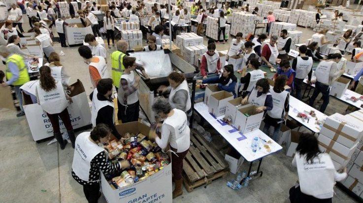 El Banco de Alimentos de Guatemala alcanzó recaudar 500 toneladas de alimentos durante 2017.