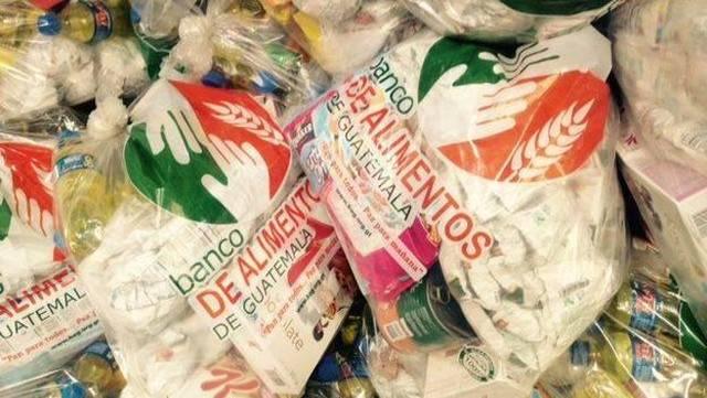 El Banco de Alimentos de Guatemala recibió colaboración de empresas y organizaciones como: Bimbo, Nestlé, Kellogg's, FAO, entre otros.