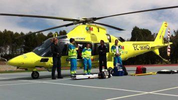 El Ministerio de Sanidad no anula la controversial pregunta del helicóptero sanitario.