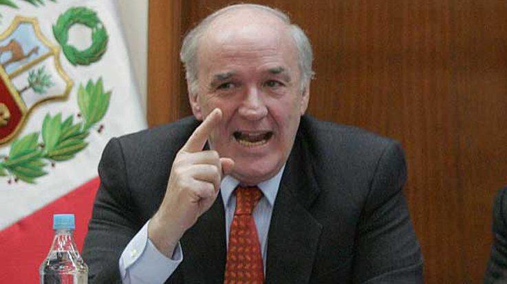 José Antonio García Belaunde, embajador de Perú en España.