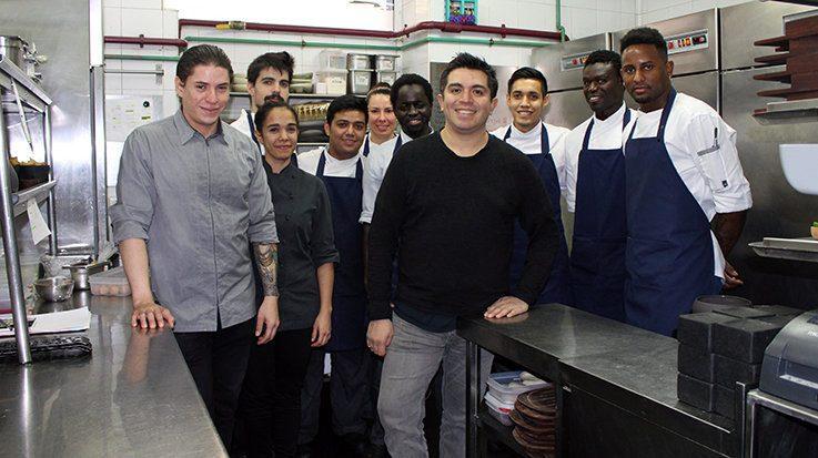 Roberto Ruiz, chef mexicano y fundador del restaurante Punto MX.