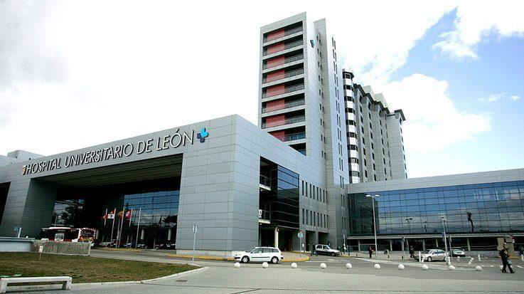 El Hospital Universitario de León.