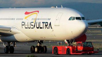 La aerolínea Plus Ultra busca un nicho de mercado en los 300.000 venezolanos en Madrid.